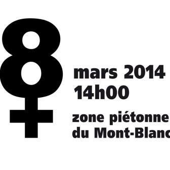 8 Mars, manifestation pour un salaire minimum