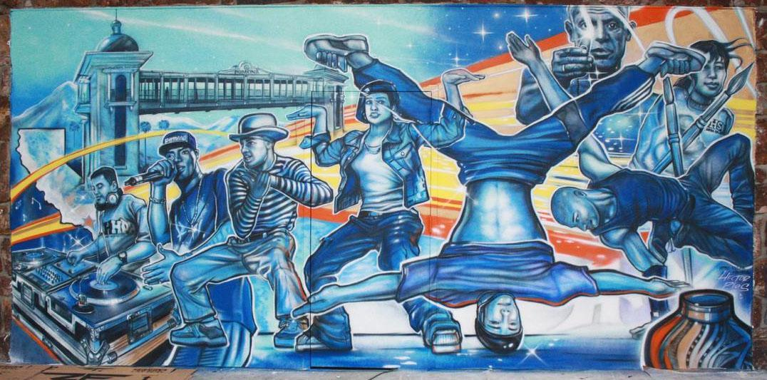 4 disciplines du Hip-Hop, graffiti