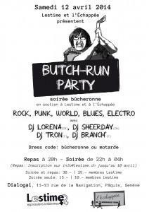 Butch-Run Party - soirée bûcheronne