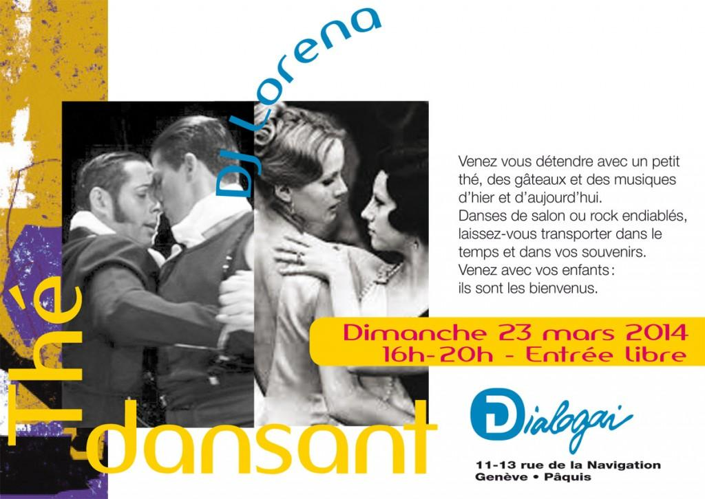 Thé Dansant avec Dj Lorena, 23 mars 2014