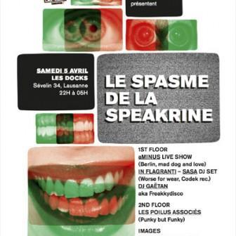 Le Spasme de la Speakerine