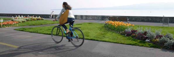 Vélo dans le canton de Genève