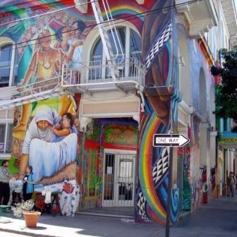 Fresques féministes de San Francisco et Concert de Sophie Solo