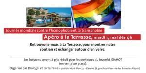IDAHOT le 17 mai,  rendez-vous à La Terrasse !