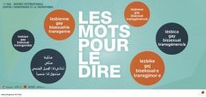 Campagne contre l'homophobie et à la transphobie : « Les mots pour le dire ! » de la Ville de Genève