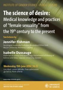 Les sciences du désir : Savoirs et pratiques médicales de la «sexualité féminine» du XIXe siècle à nos jours