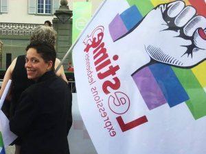 Photos et reportage à la Pride de Fribourg