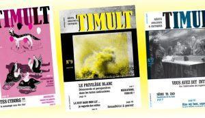 L'écriture en chantier… avec la revue Timult