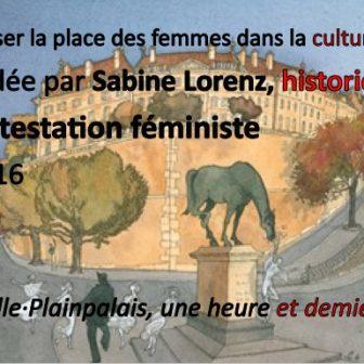 Balade à travers la Genève féministe et contestataire