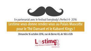 A 19h, Kabaret Kings au Thé dansant du Festival Everybody's Perfect !