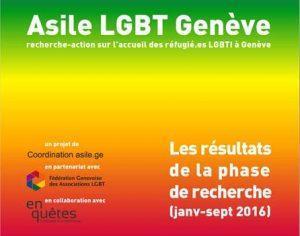 Projet « Asile LGBT Genève » : rapport de recherche