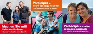Participez au sondage national « Les familles arc-en-ciel en Suisse »