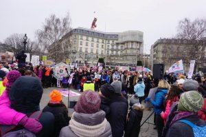 Geneva Women's March avec la présence de Lestime