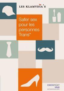 Brochure : Safer sex pour les personnes trans*