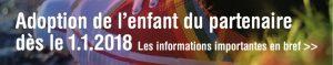 Soirée d'information sur la loi sur l'adoption de l'enfant du/de la partenaire