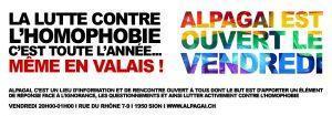 Soutien à l'Association LGBT valaisane Alpagai