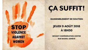 Violence contre les femmes : CA SUFFIT !