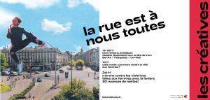 """""""La rue est à nous toutes"""" – Festival Les Créatives"""