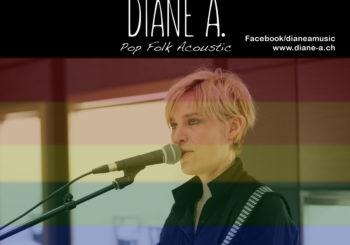 Diane A en concert