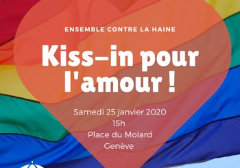 Kiss-in à Genève !