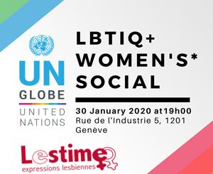 Rencontre avec LBTIQ+ Women's* Social