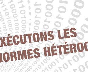 Atelier « Exécutons les normes hétérocis »