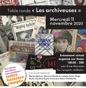 Table ronde « Les archiveuses»