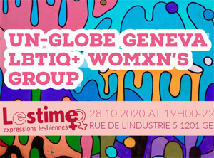 Soirée avec UN-GLOBE Geneva : LBTIQ+ Womxn's Group.