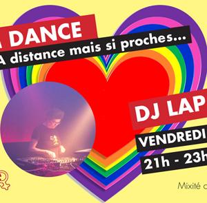 Soirée Zoom Dance avec Dj Lap